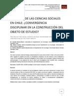 El Campo de Las Ciencias Sociales en Chile