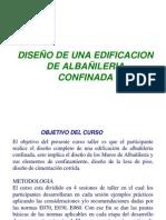 Diseño de edificacion con albañileria confinada - Ing. Cruz Godoy