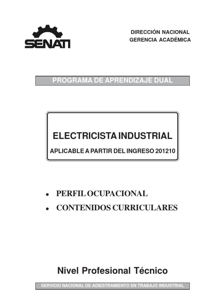 Electricista industrial 201210 for Trabajo de electricista en malaga