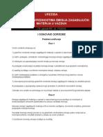 259_Uredba o Granicnim Vrednostima Emisija Zagadjujucih Materija u Vazduh