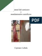 Manual Del Carnicero y Mandamientos Carnificios