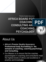 Introducing the Africa Board for Coaching Consulting and Coaching Psychology