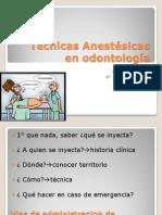 21754138 Tecnicas Anestesicas en Odontologia