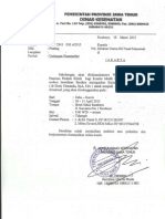 Penyusunan Panduan Praktik Klinis (Kasus Dan Prosedur Tindakan) Rumah Sakit se Jawa Timur
