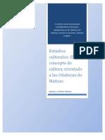 Matisse y La Concepcion Simbolica de La Cultura