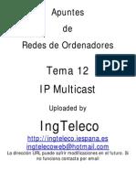 Tema 12 - IP Multicast