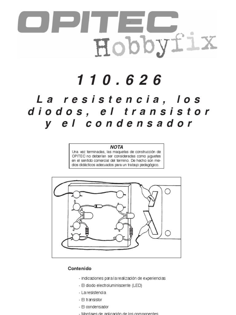 110626 Bm Led Circuito Basado Probador De Transistores