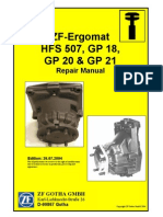 ZF Repair Manaul Tranmission HBF 15_18-II and -5