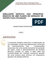 TCC GERALDO_Simulador Geração vapor