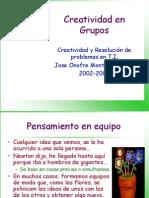 CRP 2 Creatividad en Grupos