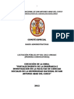 Proyecto de Pabellon Ciencias Sociales