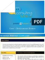 ConsultingTutor Practice Cases - Retirement Complexes