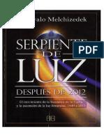 Serpiente de Luz - Drunvalo Melchizedek