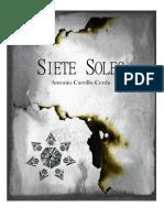 Siete Soles - Antonio Carrillo Cerda - Cuento - 2012