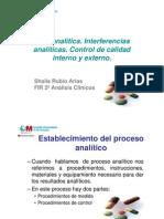 4.- Fase Analitica. Control de Calidad Interno y Externo