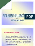Atenci+ºon Primaria y Reforma