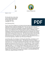 Inslee and Kitzhaber joint letter to CEQ