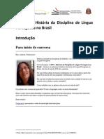 LP001_REDEFORLP_UNICAMP_2012_Histria Da Disciplina de Lngua Portuguesa No Brasil
