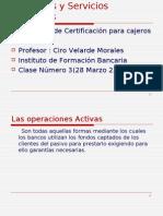 Productos y Servicios Bancarios Clase 4