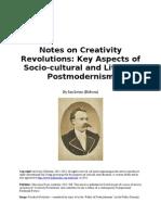 Notes on Creativity Revolutions