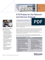 k18 Probes for the Network and Service Analyzer Datasheet