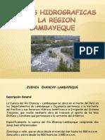 Cuencas Hidrograficas de La Region Lambayeque