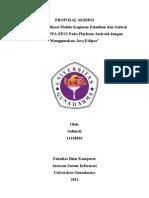 Proposal Skripsi Gunadarma