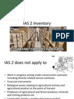 IAS 2 Inventory