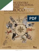 Programa Encuentro Barroco 2013