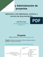 Gestión y administración de proyectos