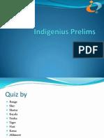 Indi-Genius 2013 Prelims