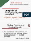 Chapter 6 Bearing Capacity