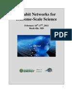 Terabit Networks Workshop Report