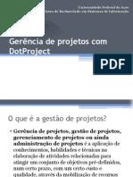 Gerência de projetos com DotProject