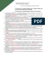 CORRECCIÓN Segunda Prueba Procesos Cognitivos II 2012