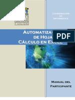 Automatizacion de Hojas de Calculo en Excel