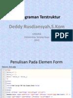 Pemrograman Terstruktur Ke-4