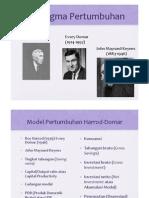 Model Pertumbuhan Harrod-Domar
