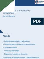 Introducción a la simulación y modelación