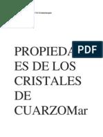 Propiedades de Los Cristales de Cuarzomarcel Vogel