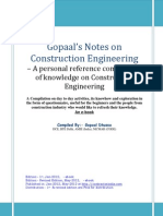 eBook - Gopaals Notes on Construction Engineering-Revised Edition- May-12