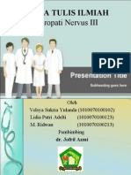 Neuropati Nervus III Ppt