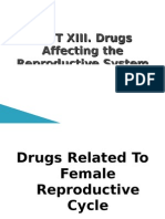 UNIT XIII Drugs Affecting the Reproductive System