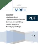 Trabajo MRP I - Logistica