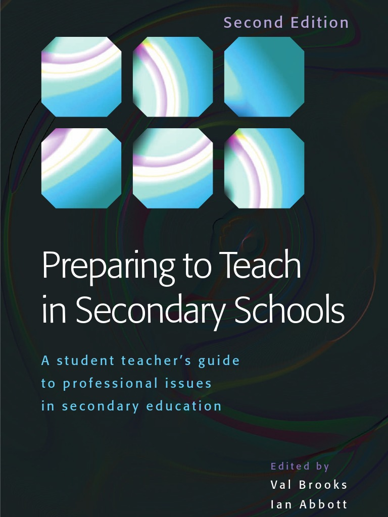 Preparing to Teach in Secondary Schools.pdf | Teachers | Curriculum