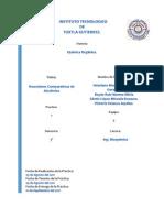 Reporte de Practica 1 Organica II