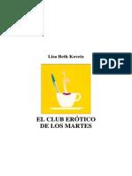 Kovetz Lisa Beth - El Club Erótico De Los Martes
