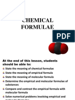 Empirical and Molecular Formulae