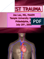 Chest Trauma Basics