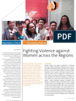 Peace Women Across the Globe Newsletter 01/2013